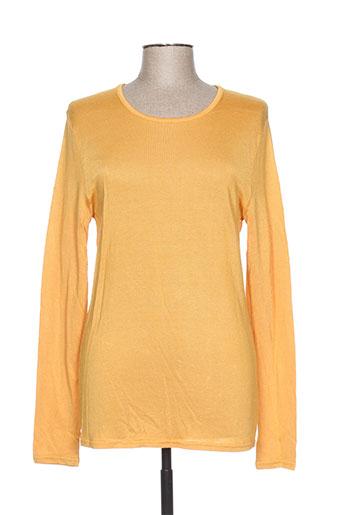 gerard matel t-shirts femme de couleur jaune