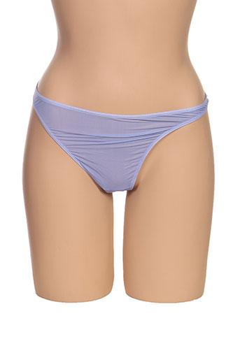String/Tanga violet ATHENA pour femme