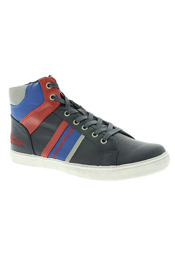 kaporal chaussures garçon de couleur bleu