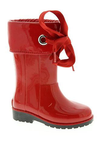 tty chaussures fille de couleur rouge