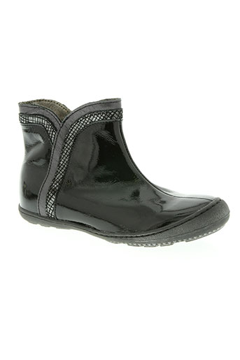 little mary chaussures fille de couleur noir
