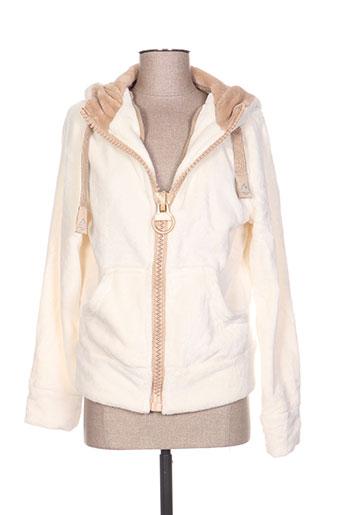 mountain wear by lilawadi vestes femme de couleur beige