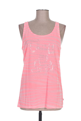 cbk t-shirts femme de couleur rose