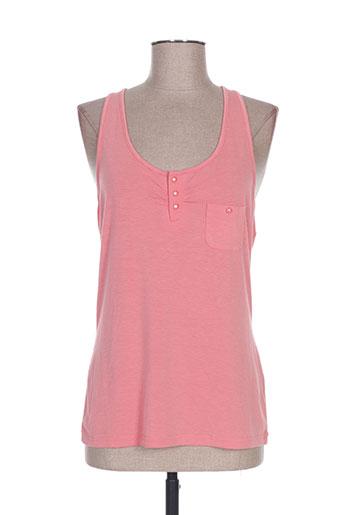 lola espeleta t-shirts femme de couleur rose