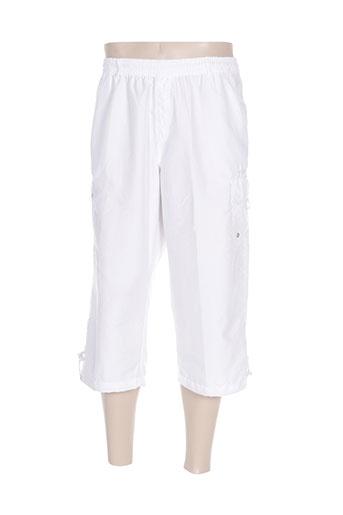 cbk pantacourts homme de couleur blanc