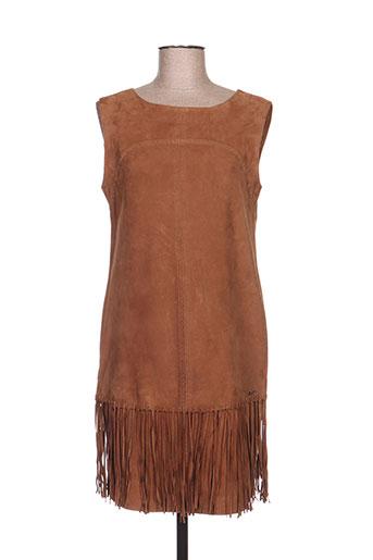 nenette robes femme de couleur marron