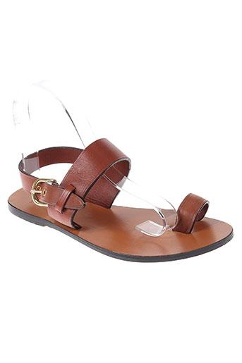 laurence dolige chaussures femme de couleur marron