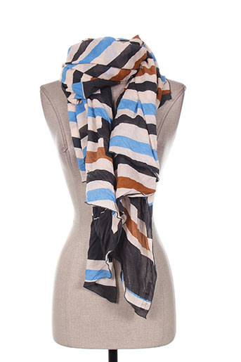 Foulard bleu MANILA GRACE pour femme