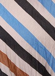 Foulard bleu MANILA GRACE pour femme seconde vue