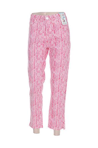 s.quise pantacourts femme de couleur rose