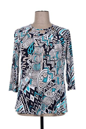vetistyle chemises femme de couleur bleu