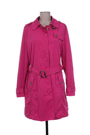 rofa fashion group manteaux femme de couleur rose