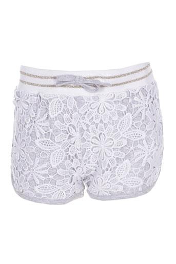 losan shorts / bermudas fille de couleur gris