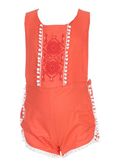 Barboteuse orange CARREMENT BEAU pour fille