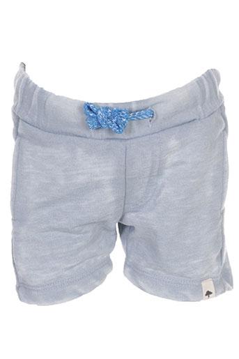 billybandit shorts / bermudas fille de couleur gris