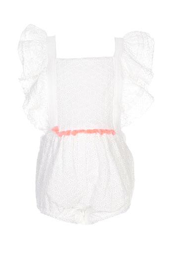 louise misha combinaisons fille de couleur blanc