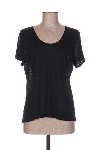 see the moon t-shirts femme de couleur noir