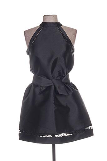 lili sidonio robes fille de couleur noir