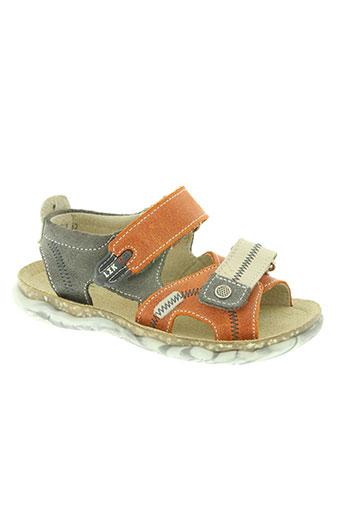 little mary chaussures garçon de couleur orange