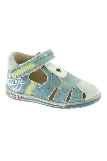 mod8 chaussures garçon de couleur bleu