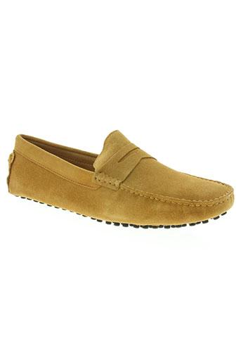 noex chaussures homme de couleur beige