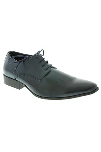 noex chaussures homme de couleur bleu