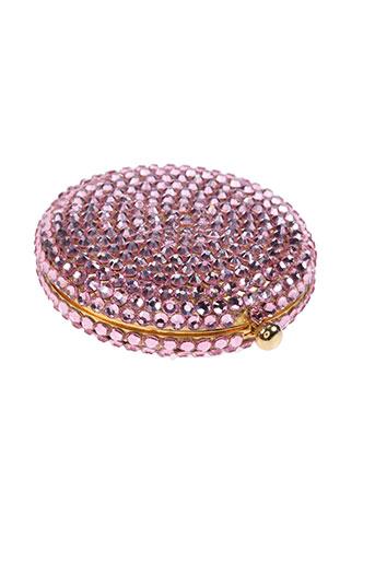 ambrosia paris accessoires femme de couleur rose