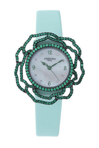 Montre vert AMBROSIA PARIS pour femme