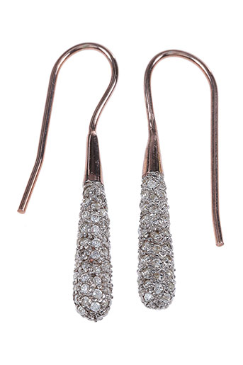 Boucles d'oreilles orange AMBROSIA PARIS pour femme