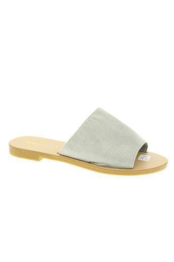 ideal shoes chaussures femme de couleur gris