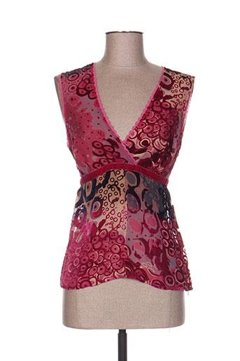vertigo paris chemises femme de couleur rose