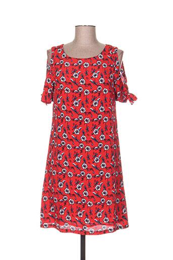 ddp robes femme de couleur rouge