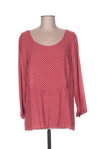 ddp chemises femme de couleur rouge