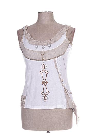 epicea t-shirts femme de couleur blanc