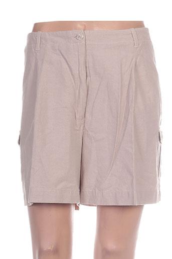 lucchini shorts / bermudas femme de couleur gris