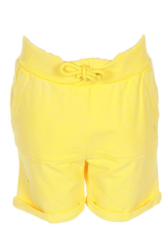 name it shorts / bermudas garçon de couleur jaune