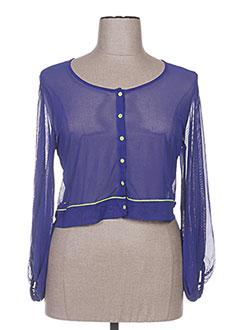 Veste casual bleu 3322 pour femme