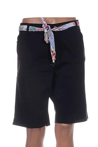 cowest shorts / bermudas femme de couleur noir