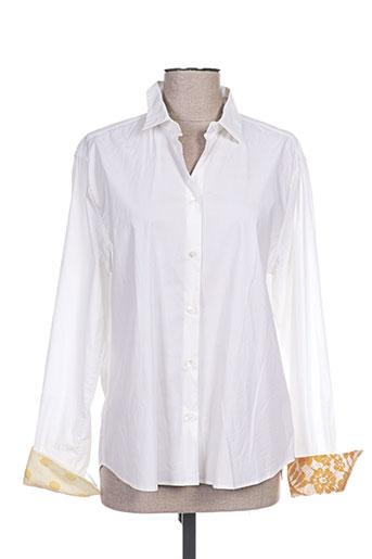 paul smith chemises femme de couleur blanc