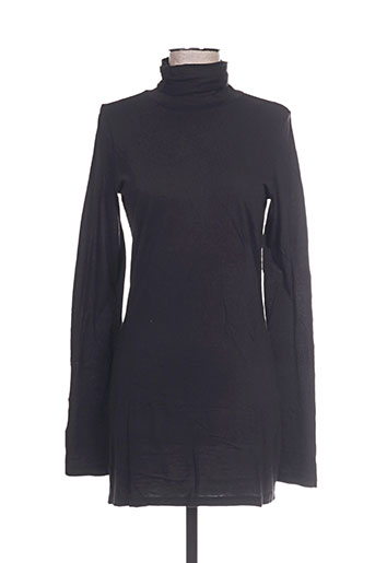 0039 italy robes femme de couleur noir