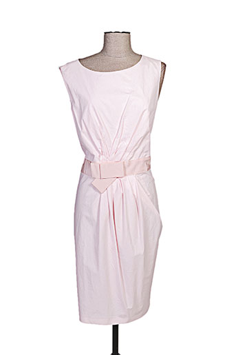 paul ka robes femme de couleur rose