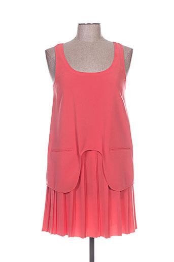 carven robes femme de couleur orange