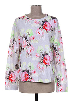 Pull col rond rose CARVEN pour femme