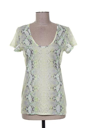 barbara bui t-shirts femme de couleur vert