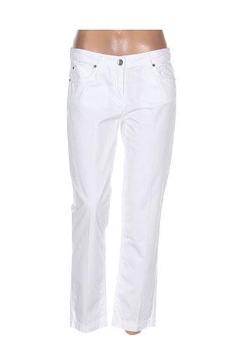 Pantalon 7/8 blanc HENRY COTTON'S pour femme