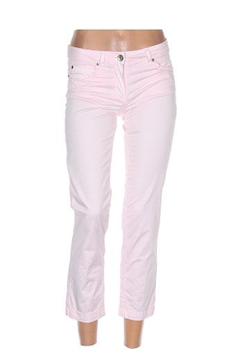 Pantalon 7/8 rose HENRY COTTON'S pour femme