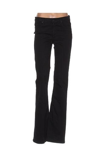 Pantalon casual noir BLACK ORCHID pour femme