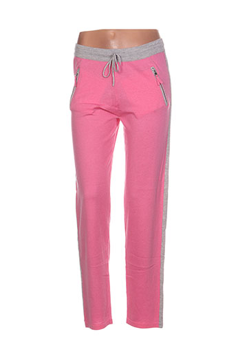 jardin des orangers pantalons femme de couleur rose