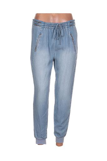 Pantalon casual bleu BLACK ORCHID pour femme