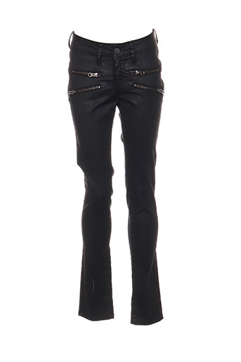 Pantalon casual noir CORLEONE pour femme